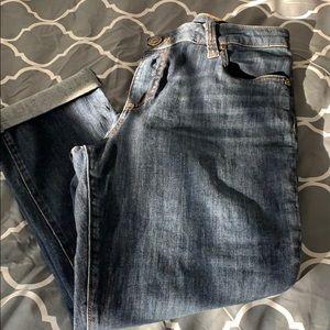Crap skinny boyfriend jeans